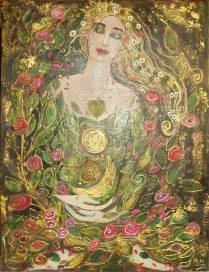 24- La fée des fleurs - Collection privée