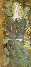 66- Fée des feuilles - Collection privée
