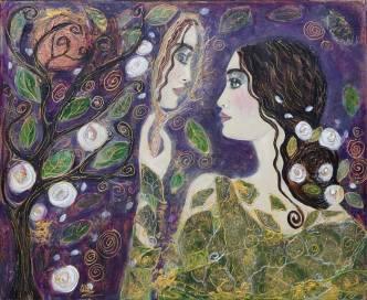 9- La dame au miroir - C
